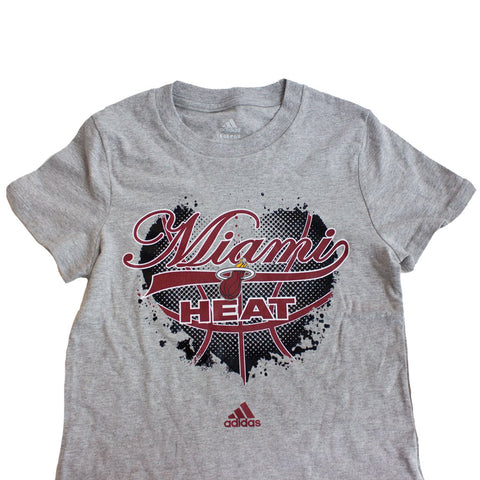 adidas Miami HEAT Girls Basketball Heart T-Shirt
