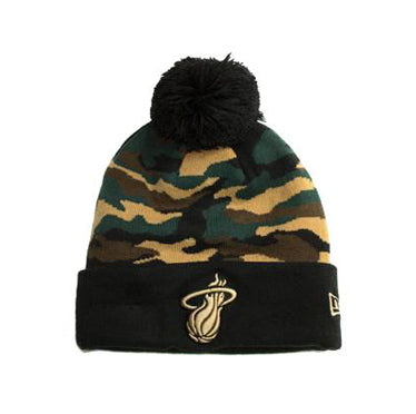New Era Miami HEAT Camo Knit
