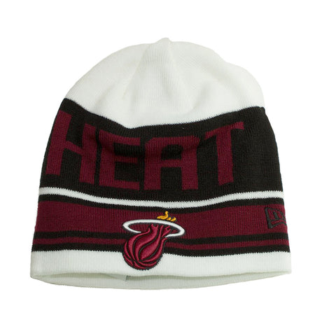 New Era Miami HEAT Snow Top Knit