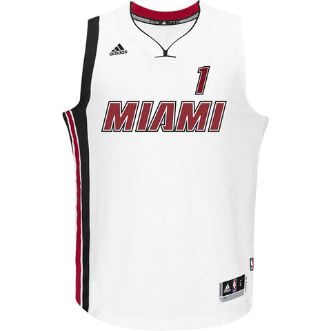 Chris Bosh Miami HEAT adidas Legacy Youth Swingman Jersey