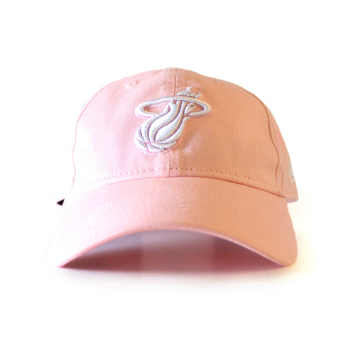 New Era Miami HEAT Pink Adjustable Cap