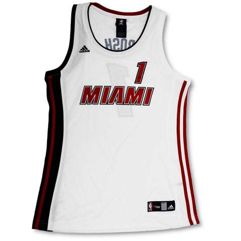Chris Bosh Miami HEAT adidas Legacy Ladies Swingman Jersey