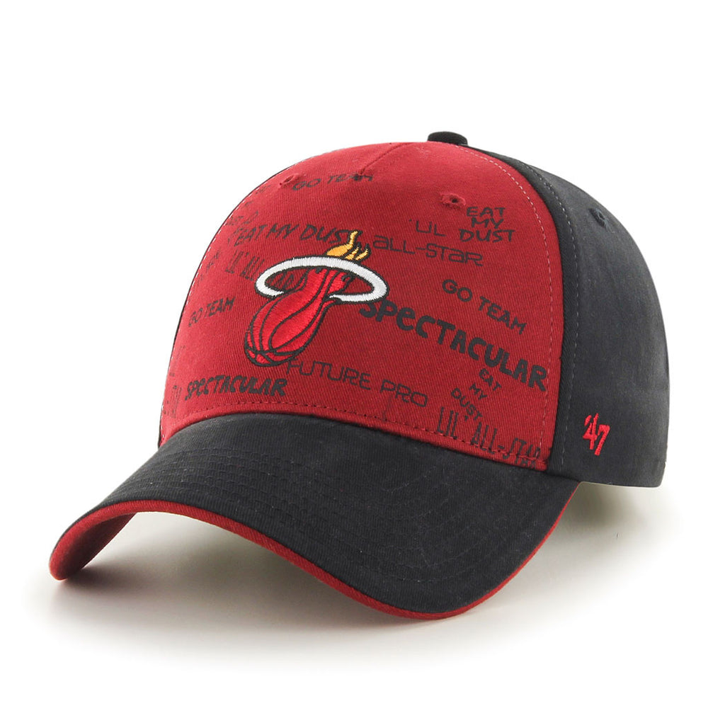'47 Brand Miami HEAT Youth Pump MVP Hat - featured image