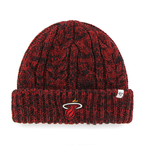 '47 Brand Miami HEAT Ladies Prima Cuff Knit