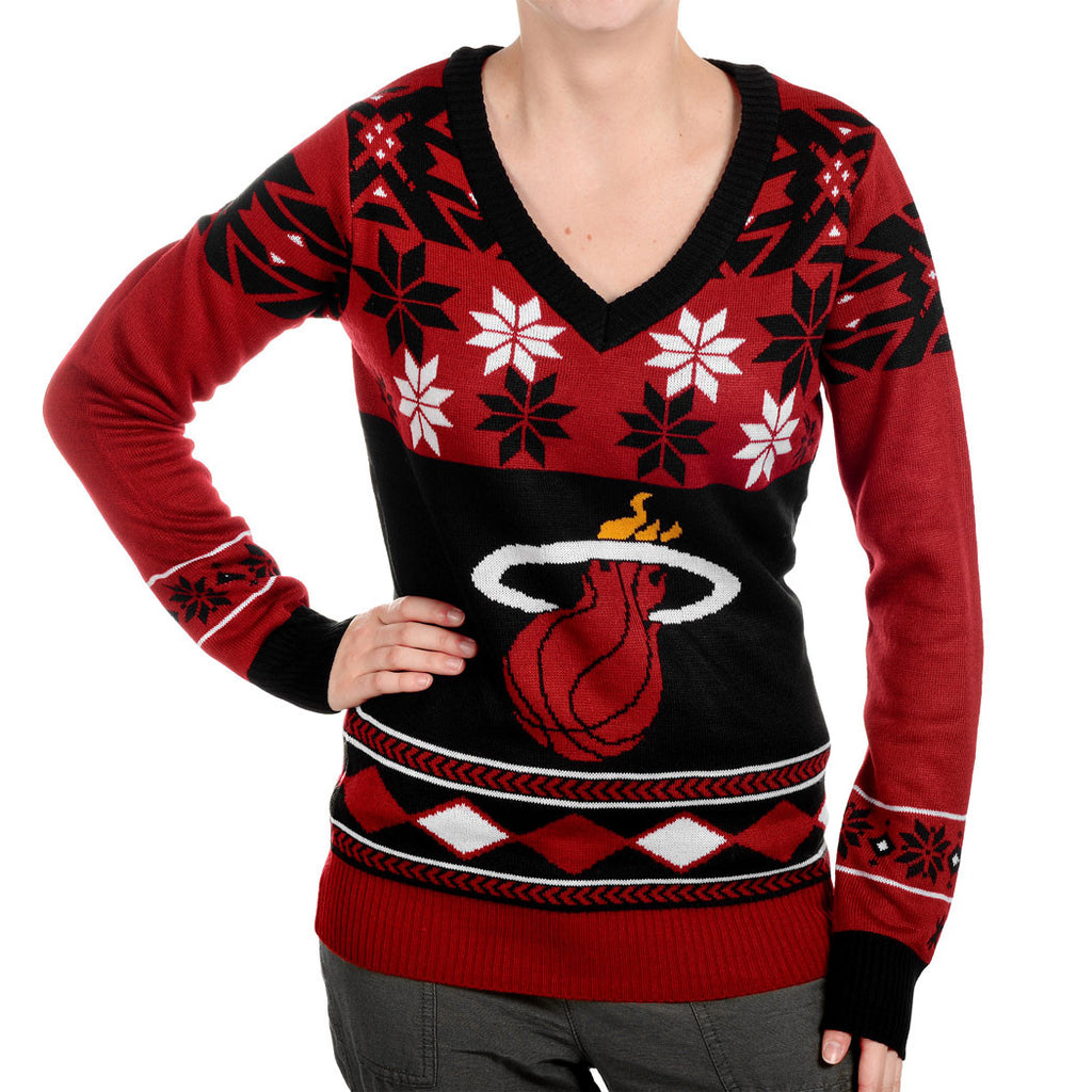 Miami HEAT Ladies Ugly Sweater - featured image