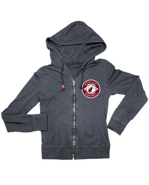 Sportiqe Miami HEAT Ladies Hitch Zip Hoodie