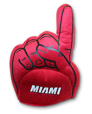 Forever Collectibles Miami HEAT #1 Finger Plush Hat