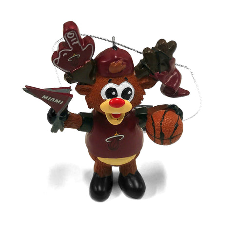 Forever Collectibles Miami HEAT Fandeer Ornament