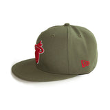 New ERA New Era Miami HEAT Home Strong Fitted Hat - 3
