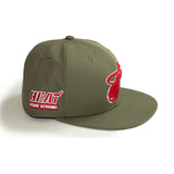 New ERA New Era Miami HEAT Home Strong Fitted Hat - 4