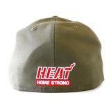 New Era Miami HEAT Home Strong Stars Fitted Hat - 2