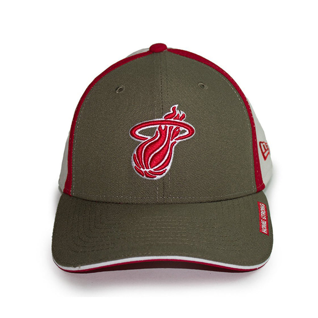 New ERA Miami HEAT Home Strong Slice Stretch Fitted Cap - featured image