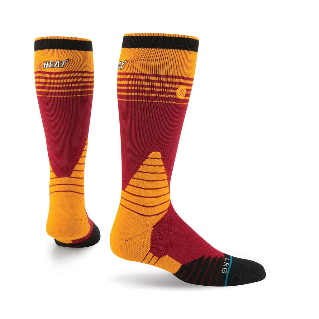 Stance Miami HEAT On Court Logo Crew Sock - featured image