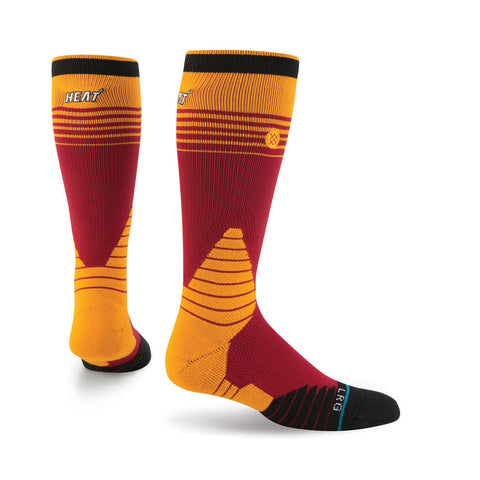 Stance Miami HEAT On Court Logo Crew Sock