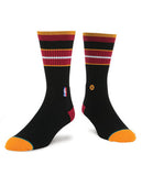 Stance Miami HEAT Arena Core Crew Sock Black - 2