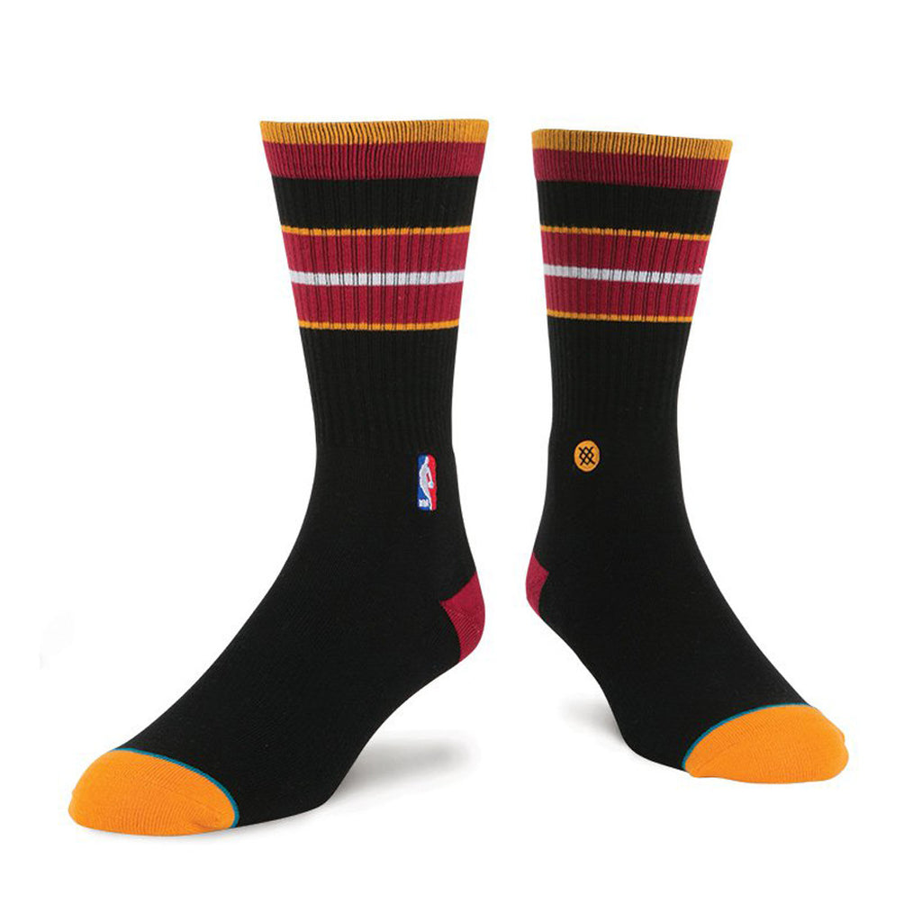 Stance Miami HEAT Arena Core Crew Sock Black - featured image