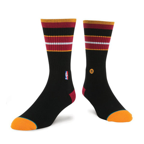 Stance Miami HEAT Arena Core Crew Sock Black