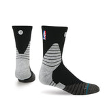 Stance Miami HEAT On Court Quarter Sock Black - 1