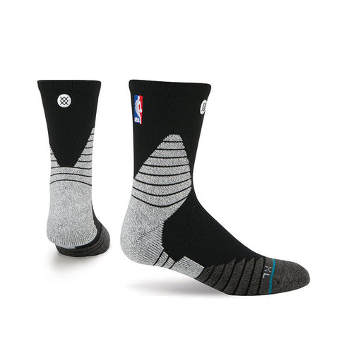 Stance Miami HEAT On Court Quarter Sock Black