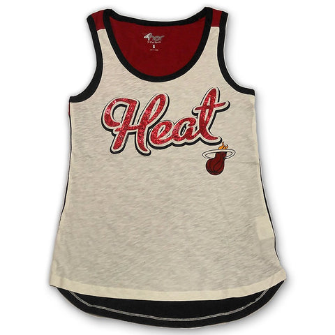 GIII Miami HEAT Ladies Triple Play Tank
