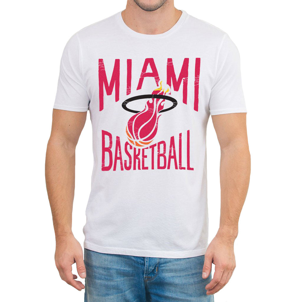 Junk Food Miami HEAT Electric T-Shirt - featured image