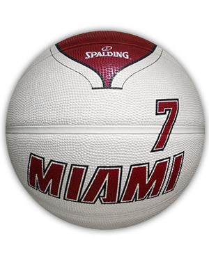 Spalding Miami HEAT Goran Dragic Legacy Basketball - featured image