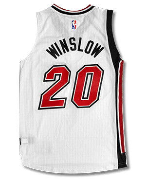 Justise Winslow Miami HEAT adidas Legacy Youth Swingman Jersey
