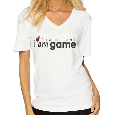 Peace Love World Miami HEAT I am Game T-Shirt