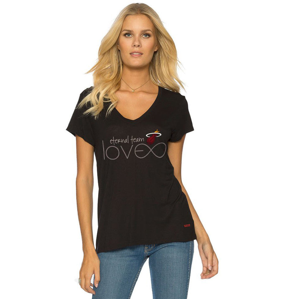 Peace Love World Miami HEAT Victoria T-Shirt - featured image