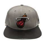 New ERA Miami HEAT Metallic Boost Snapback - 1