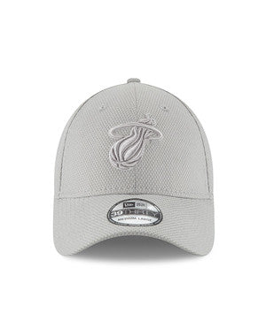 New Era Miami HEAT Tone Tech Hat Grey