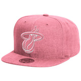 Mitchell and Ness Miami Heat Slub Snapback - 1