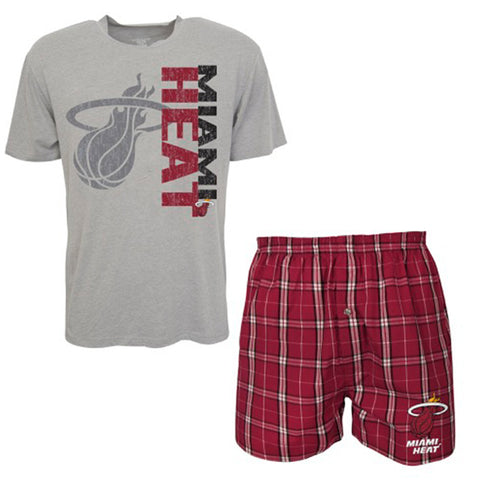 Concepts Sports Miami HEAT Top and Boxer Set