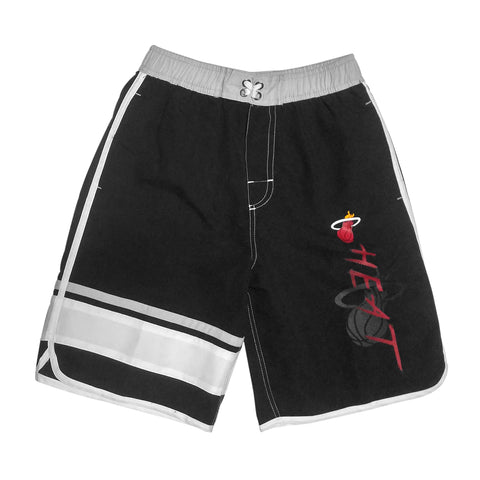 Miami HEAT Youth Color Block Swimming Trunks