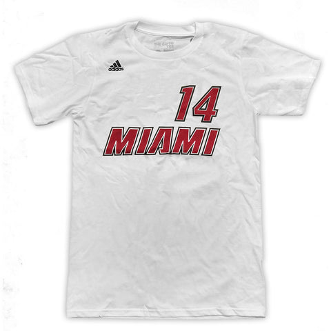 Gerald Green Miami HEAT adidas Legacy Name and Number T-Shirt