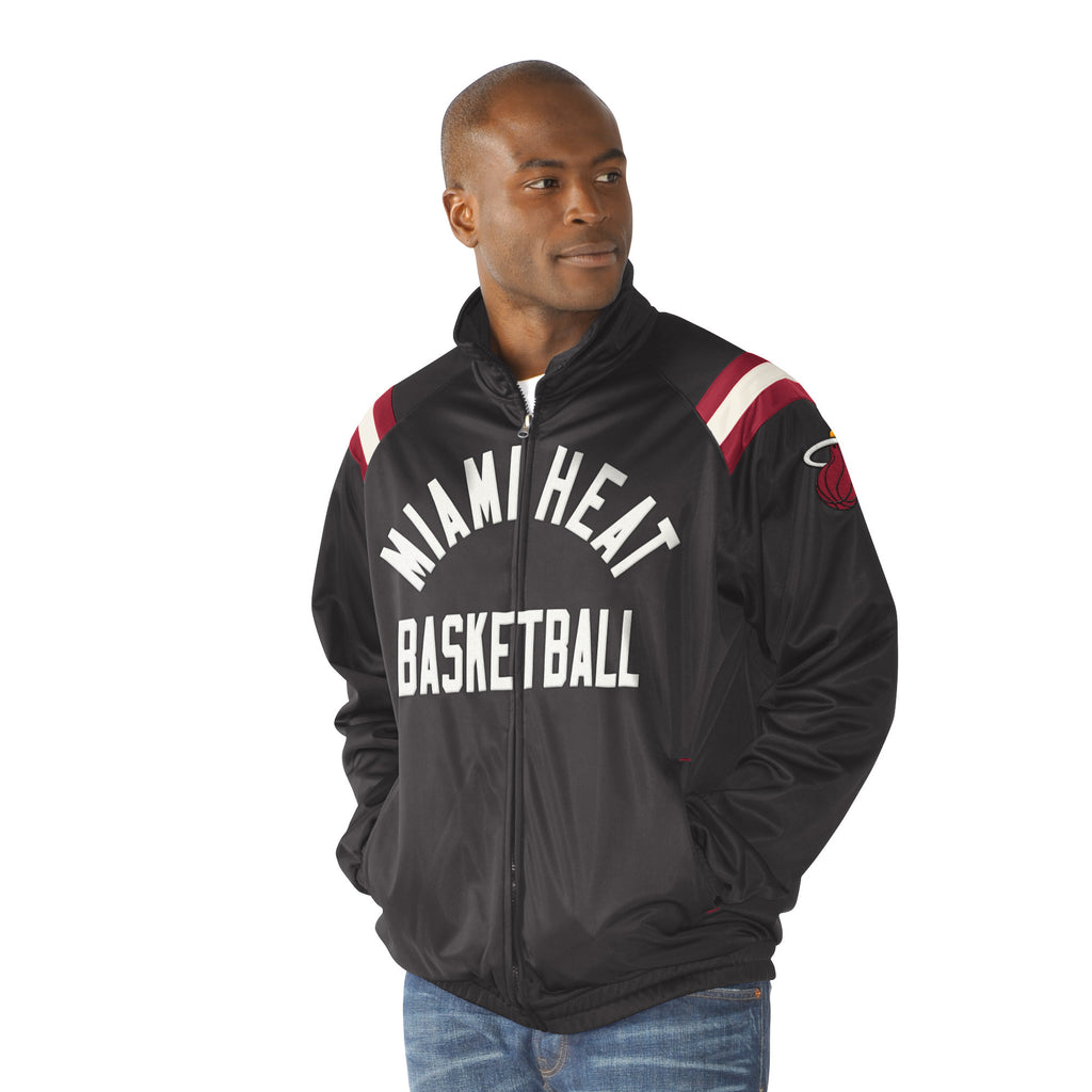 G-III Miami HEAT Center Field Track Jacket - featured image