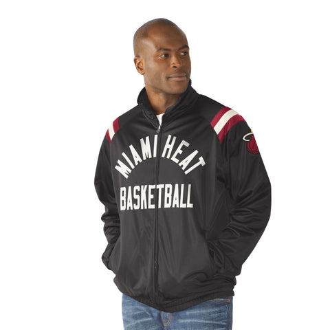G-III Miami HEAT Center Field Track Jacket