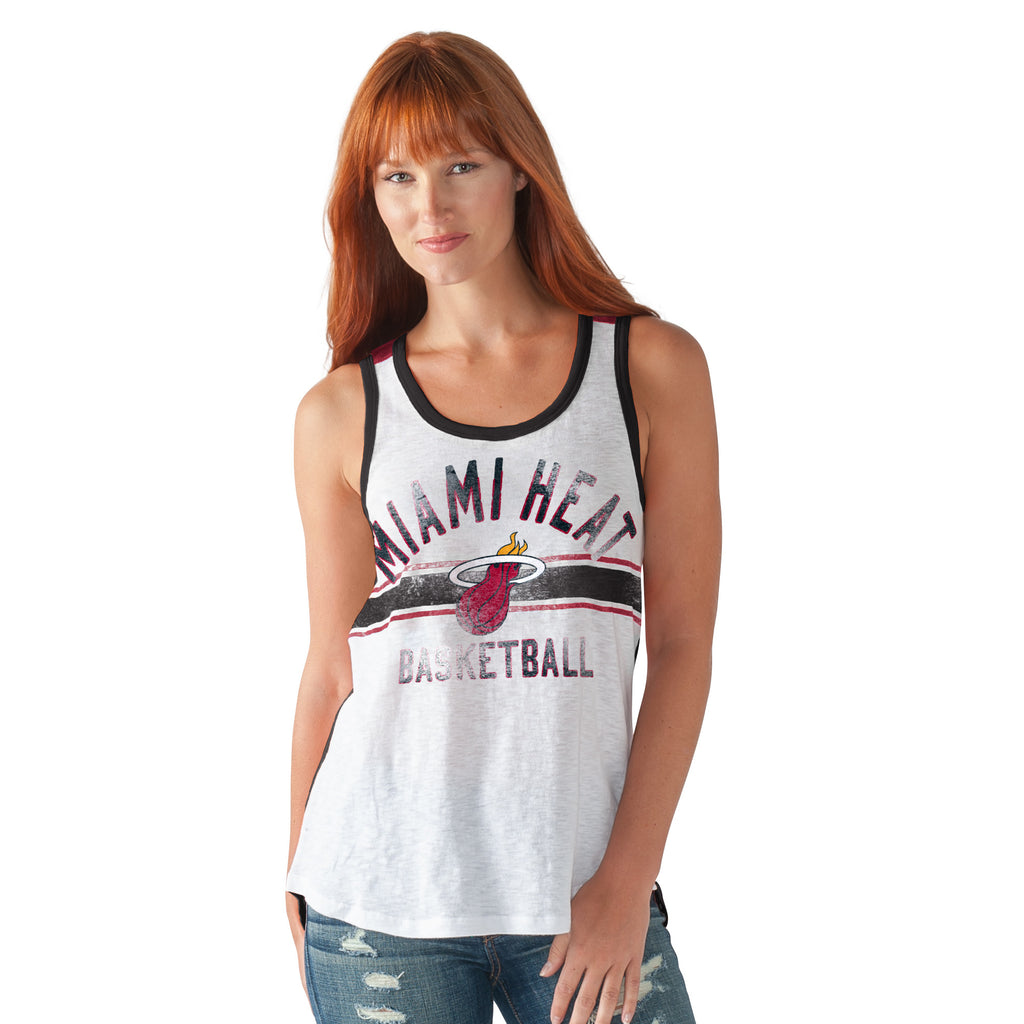 GIII Miami HEAT Ladies In The Stands Tank - featured image