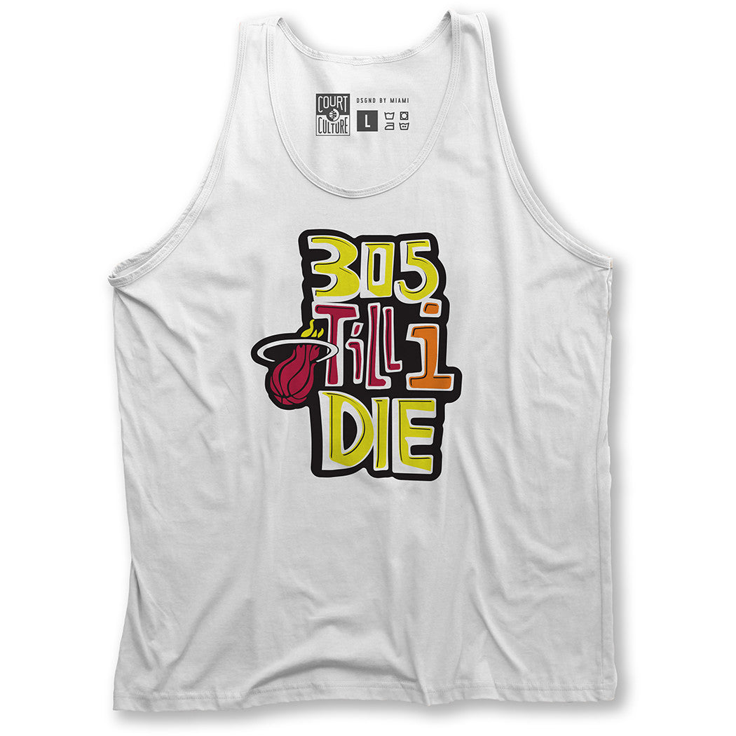 cheap for discount c0ee9 a5b52 Court Culture Throwback 305 Till I Die Tank