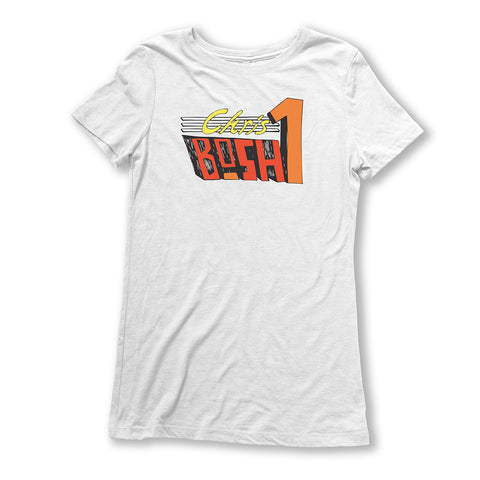 Throwback Chris Bosh Ladies T-Shirt
