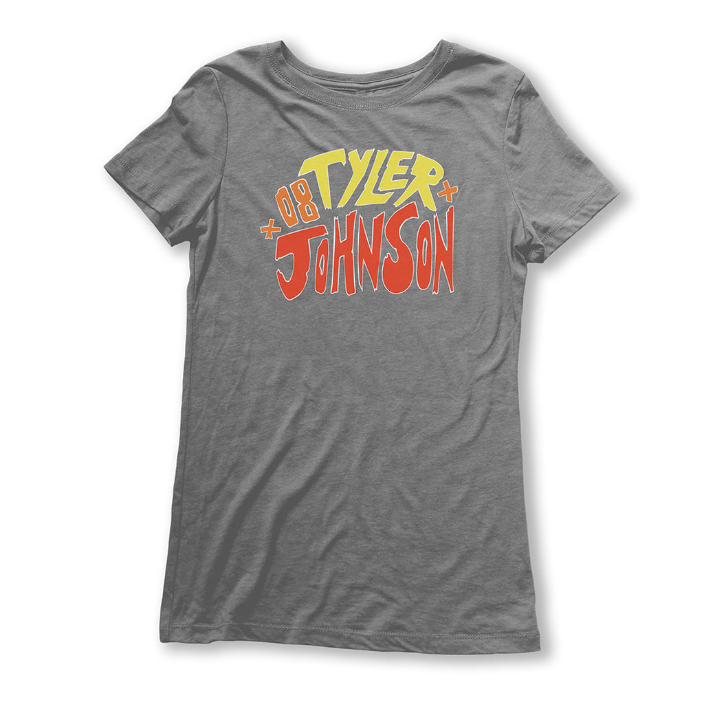 Throwback Tyler Johnson Ladies T-Shirt - featured image