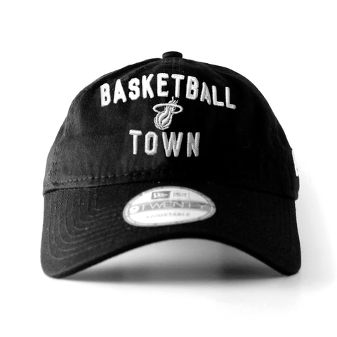 miami heat New Era BASKETBALL TOWN CAP