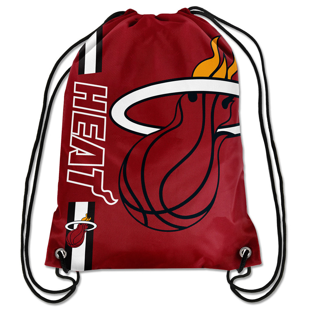 Forever Collectibles Miami HEAT Drawstrings Backpack - featured image