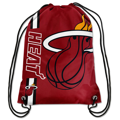 Forever Collectibles Miami HEAT Drawstrings Backpack