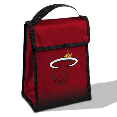 Forever Collectibles Miami HEAT Velcro Lunch Box