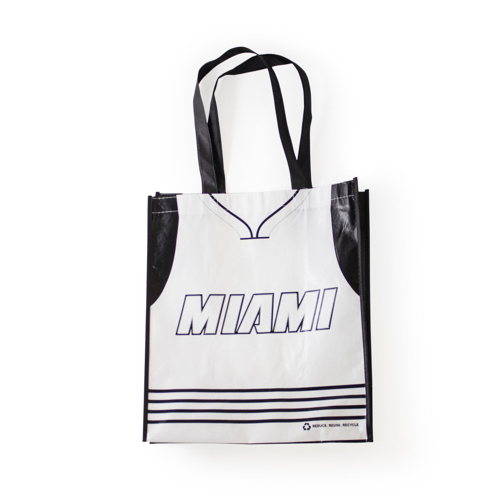 Miami HEAT White Tie Reusable Bag - featured image