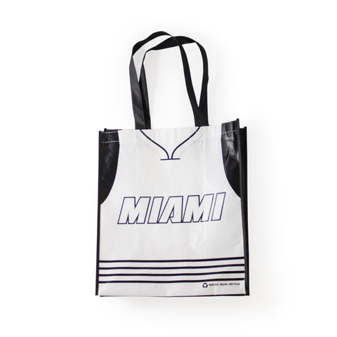 Miami HEAT White Tie Reusable Bag
