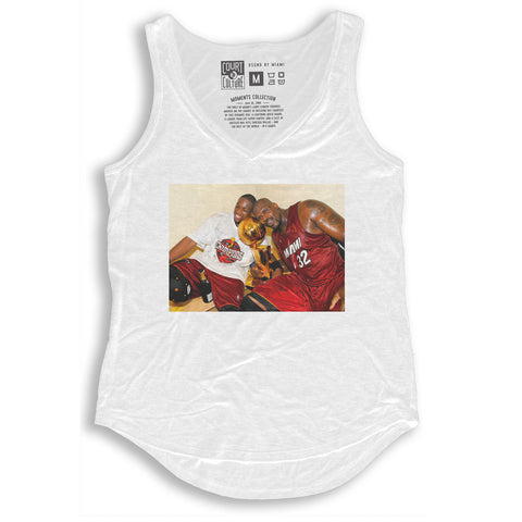 Women's Moments - Shaq and Wade V-Neck Tank