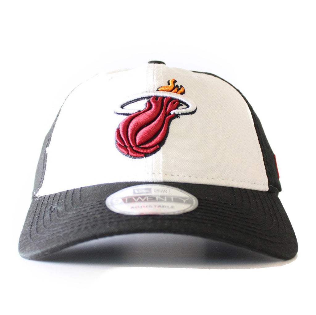 New ERA Miami HEAT Core Shore White Front Adjustable Hat - featured image