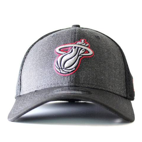 New ERA Miami HEAT Heathered Neo Fitted Cap